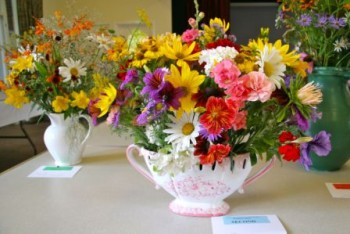 Mixed cut flowers 2011